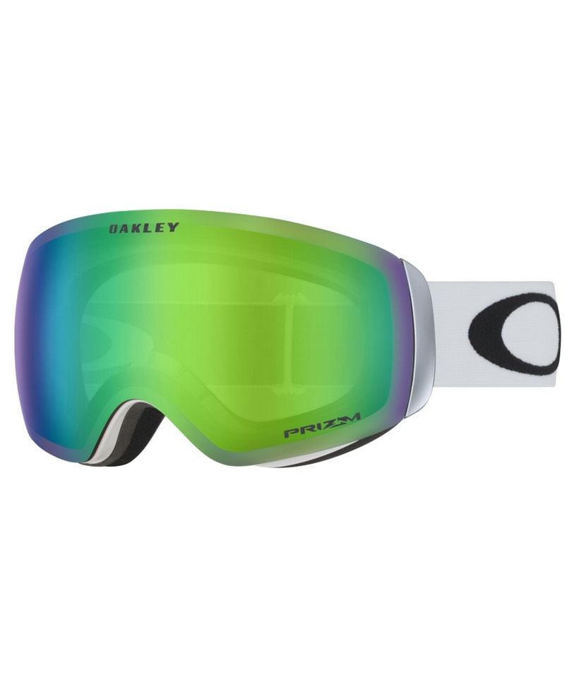 Oakley Flight Deck XM Polished White w Prizm Jade Asian Fit
