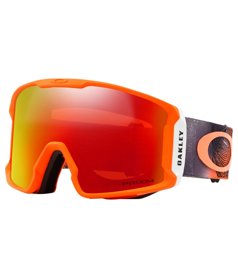 Oakley Line Miner Mystic Flow Neon Orange w Prizm Torch