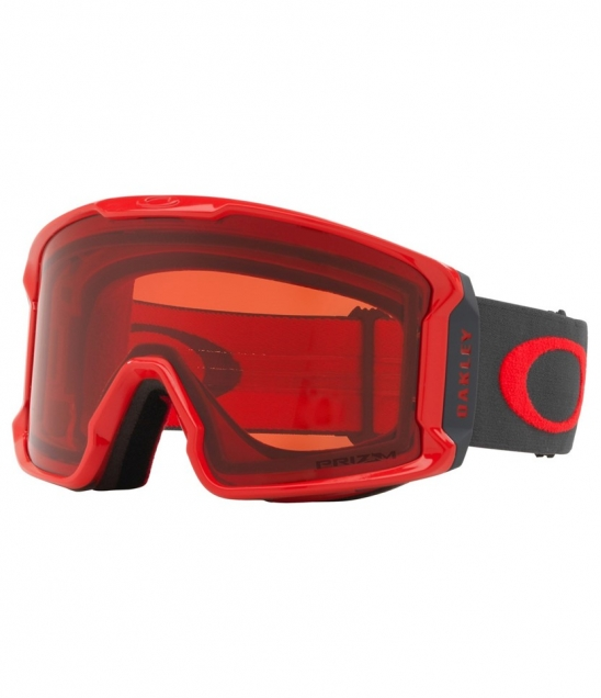 Oakley Line Miner Red Forged Iron w Prizm Rose