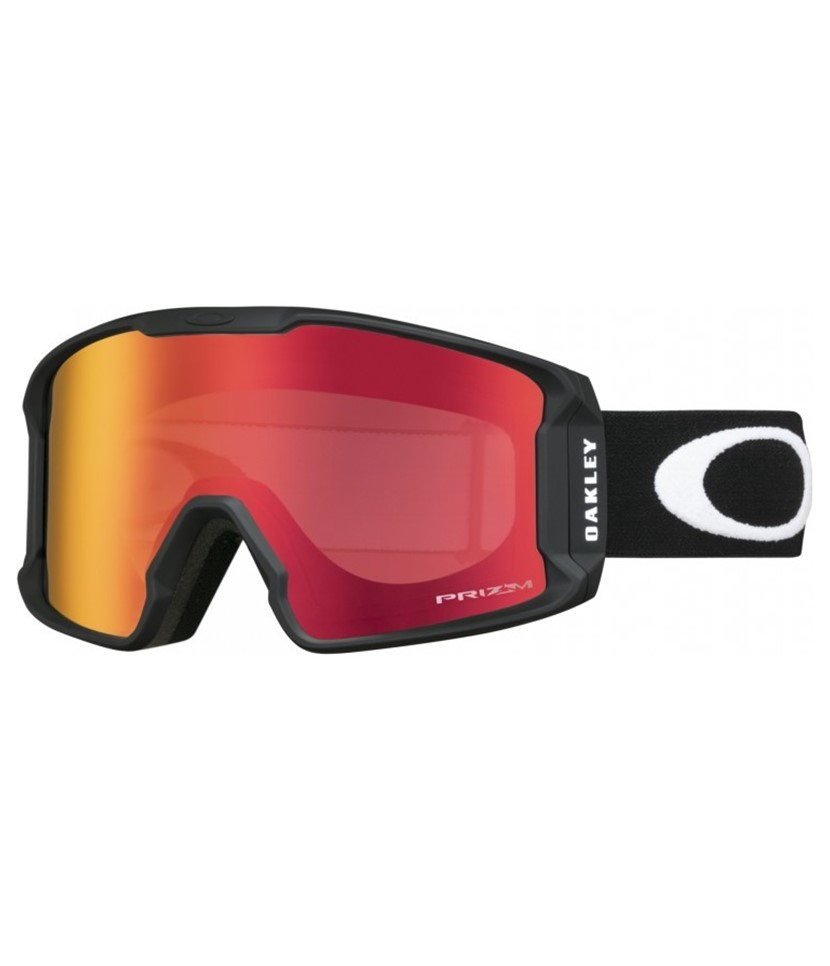 Oakley Line Miner XM Matte Black w Prizm Torch w Asian Fit Available