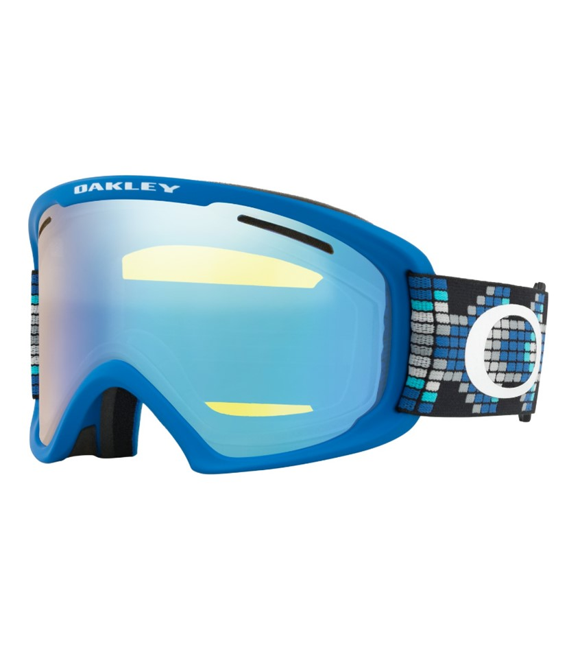 Oakley O Frame 2.0 XL Digi Snake Iron Blue w Hi Yellow w Asian Fit Available