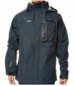 XTM Kakadu Shell Rain Jacket-Charcoal