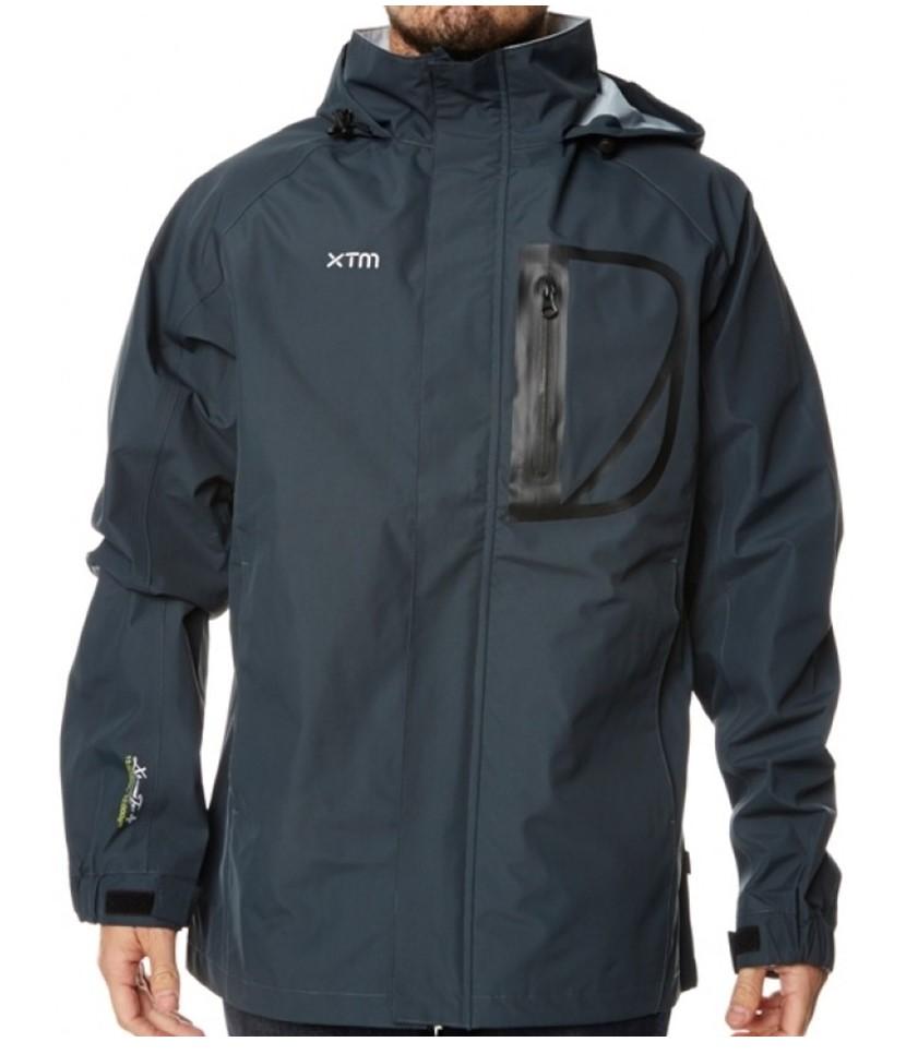 XTM Kakadu Shell Rain Jacket-Charcoal