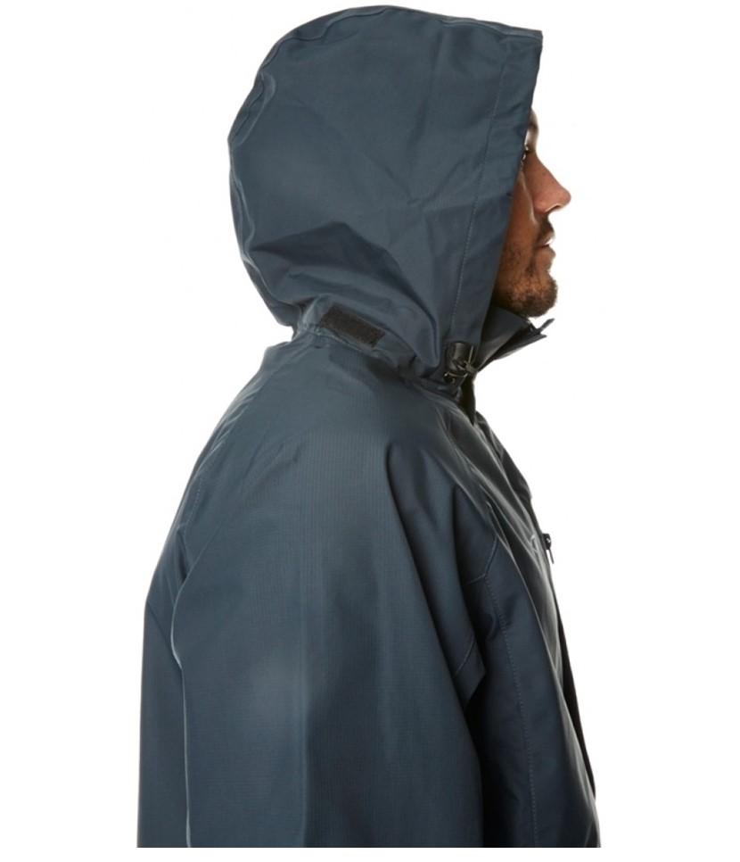XTM Kakadu Shell Rain Jacket-Charcoal 3.