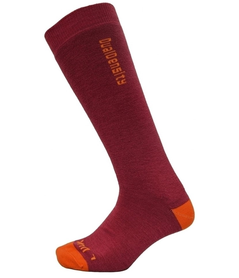 XTM Dual Density Merino Wool Socks-Deep Pink