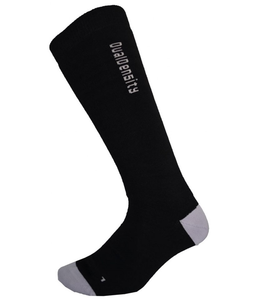 XTM Dual Density Merino Wool Socks-Black