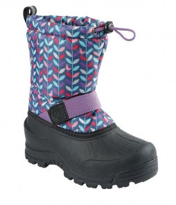 Northside Frosty Boots Navy Purple