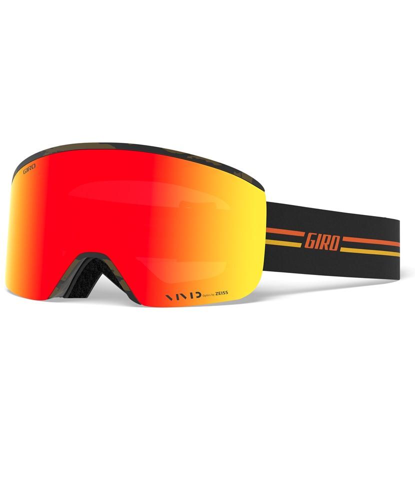 Giro Axis GP Black Orange Vivid Ember