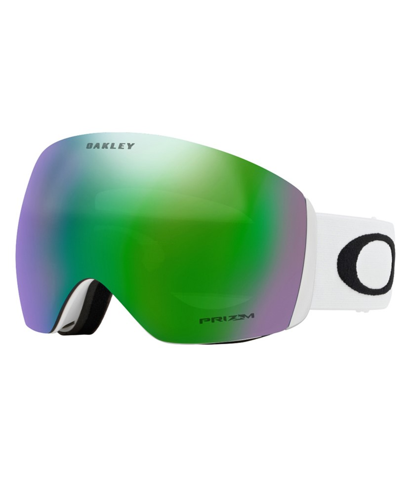 Oakley Flight Deck Matte White w Prizm Jade