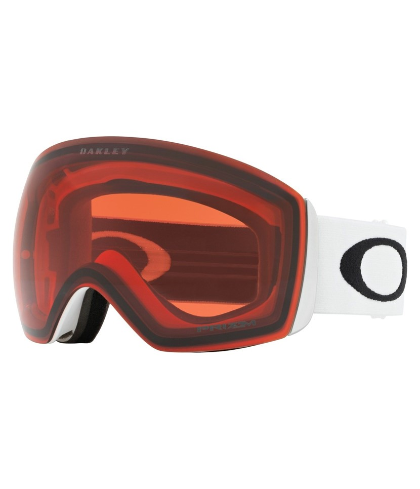 Oakley Flight Deck Matte White w Prizm Rose