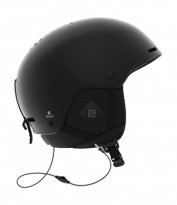 Salomon Brigade Audio Helmet Black