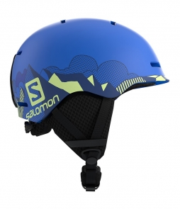 Salomon Grom Helmet Pop Blue