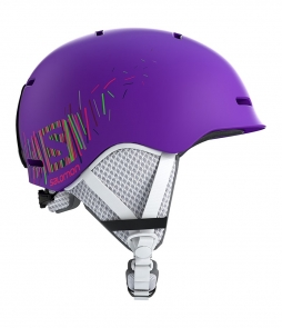 Salomon Grom Helmet Purple