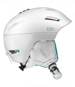 Salomon Icon² Helmet White