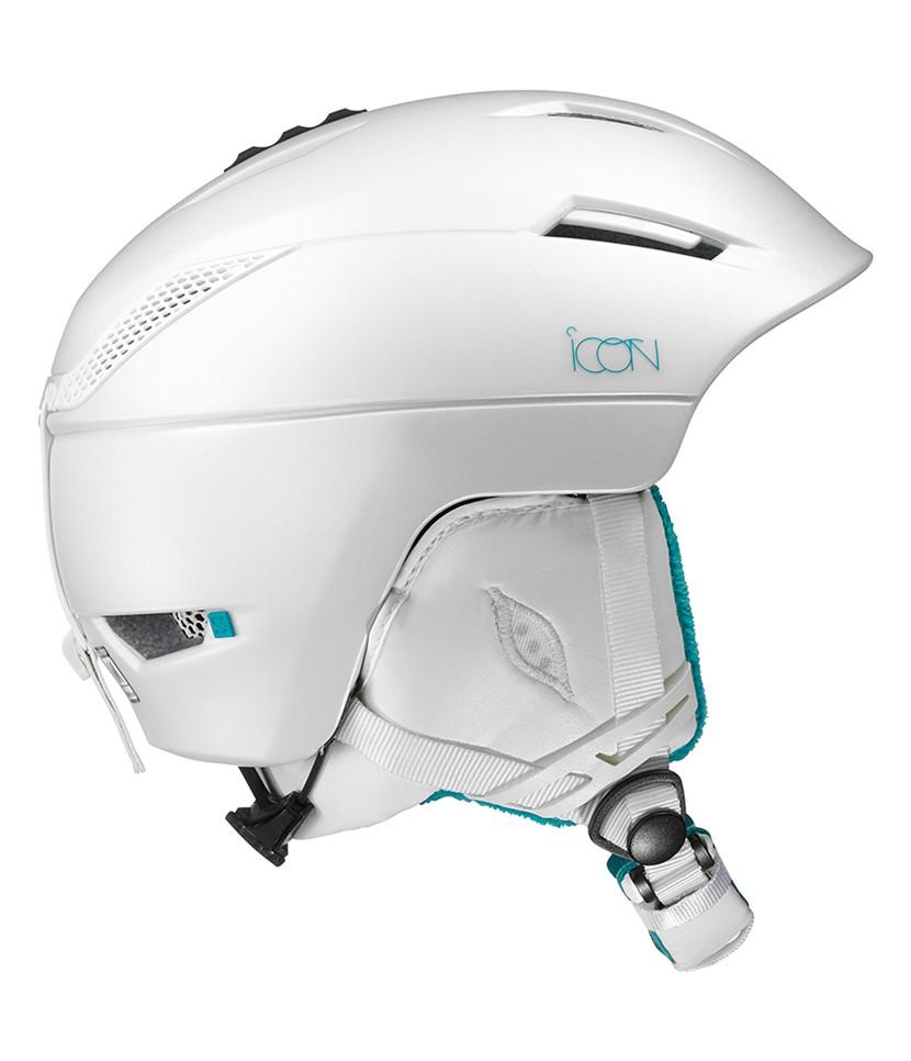 Salomon Icon² Helmet White
