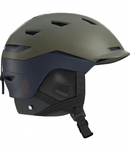 Salomon Sight Helmet Olive Night Dress Blue