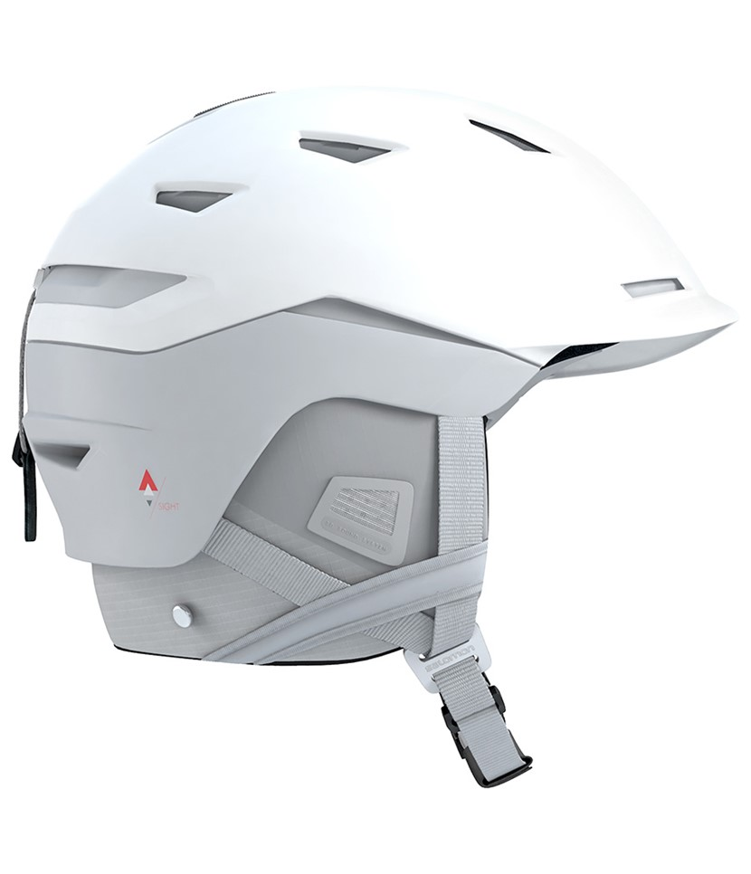 Salomon Sight Helmet White Pop