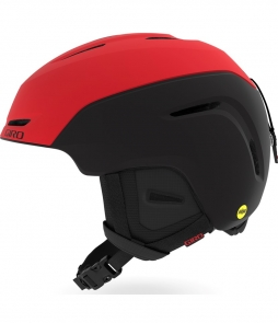Giro Neo Mips Helmet-Bright Red/ Black