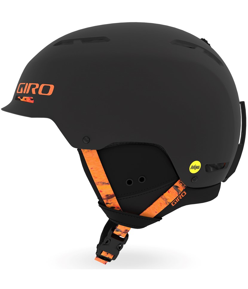 Giro Trig Mips Helmet-Black Lava