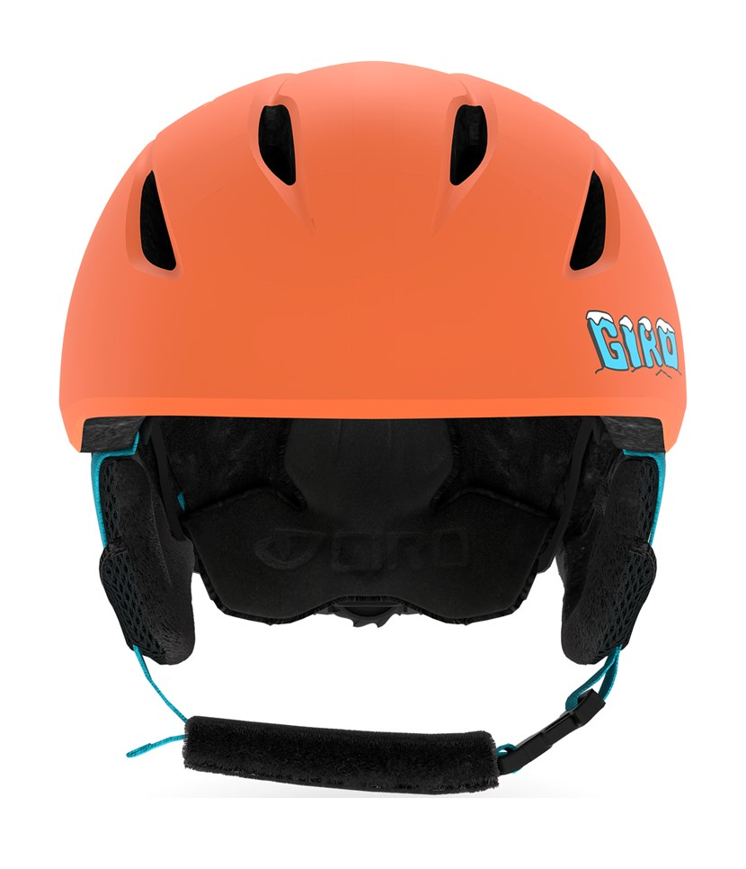Giro Launch MIPS Helmet-Deep Orange Dino 3.