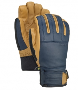 Burton Gondy Gore-Tex Leather Glove-Dress Blue