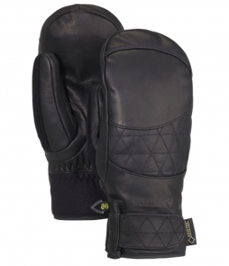 Burton Gondy Gore-Tex Leather Ladies Mitt-True Black