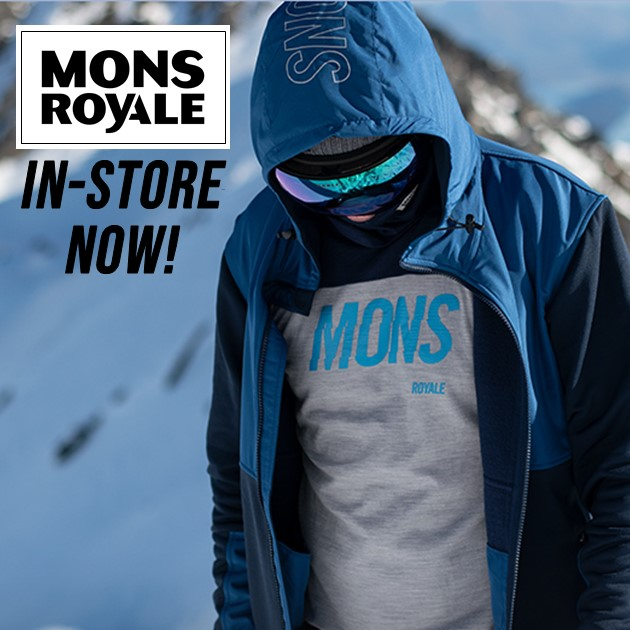 Ski & Snowboard gear in store or online for all your skiing