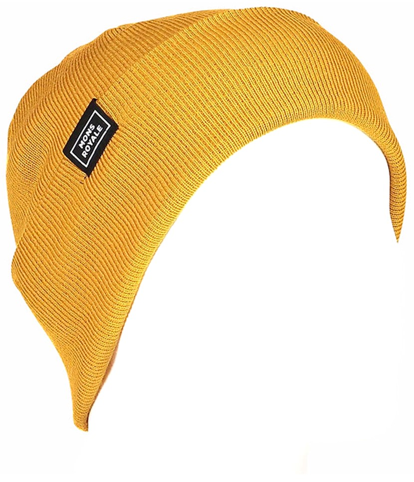 Mons Royale McCloud Beanie-Gold