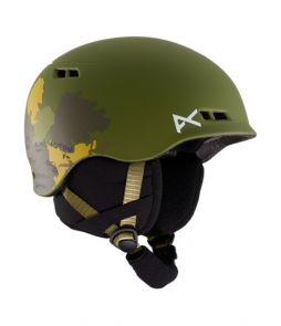 Anon Burner Black Kids Helmet-Camo