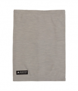 Burton Merino Wool Neck Warmer-Gray Heather