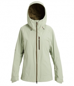 Burton AK Gore-Tex Upshft Jacket-Aqua Gray