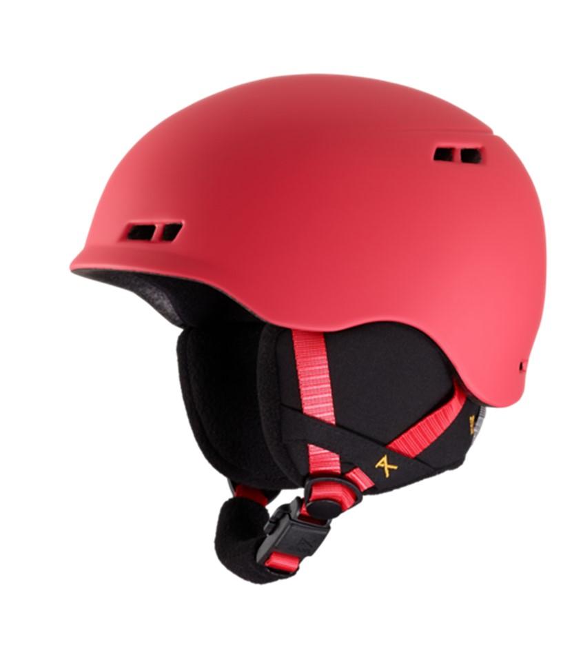 Anon Burner Black Kids Helmet Tinfoilhat-Red 2.