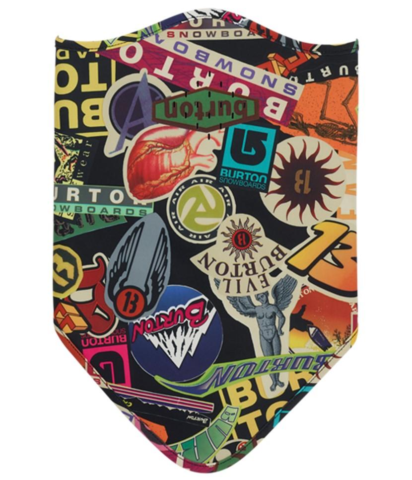 Burton Bonded Facemask-Stickers