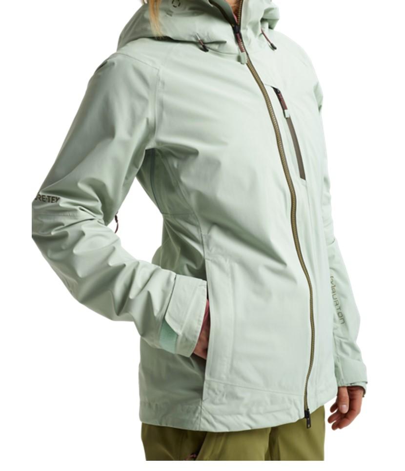 Burton AK Gore-Tex Upshft Jacket-Aqua Gray 2.