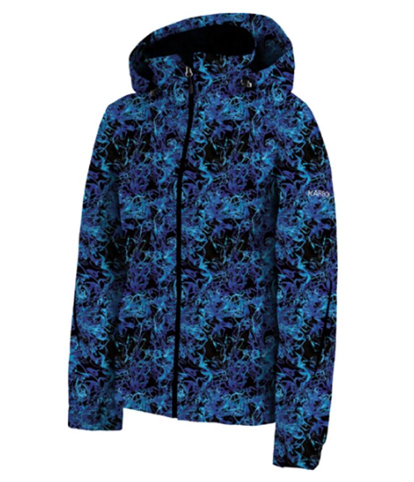 Karbon Nicol Jacket Blue Pattern