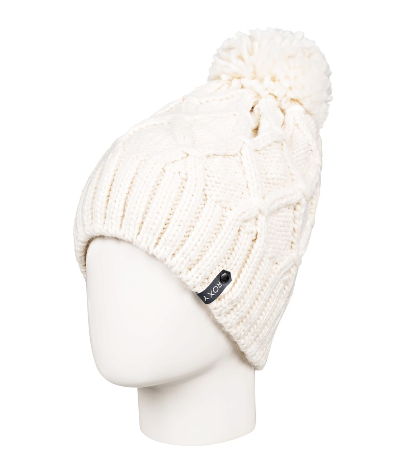 Roxy Winter Beanie-Egret