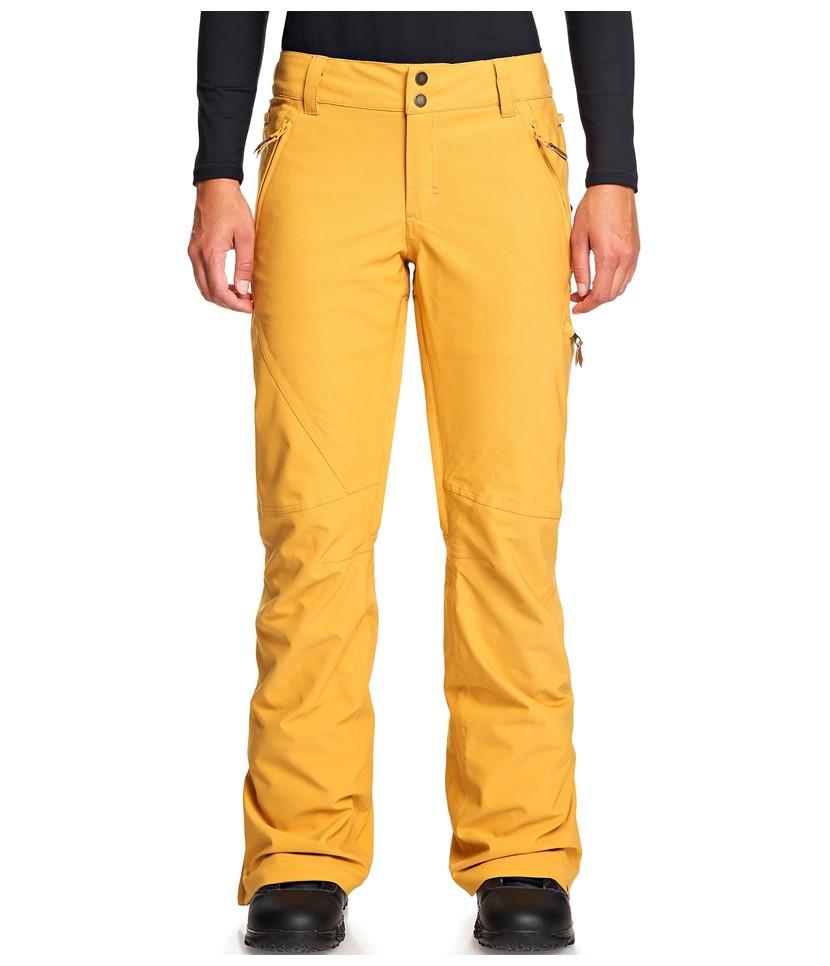Roxy Cabin Pant-Spruce Yellow