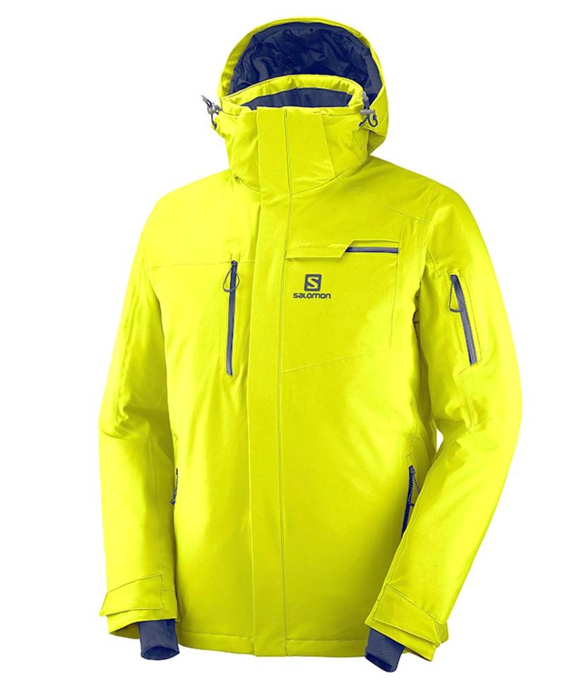 Salomon Brilliant Ski Jacket Citronelle