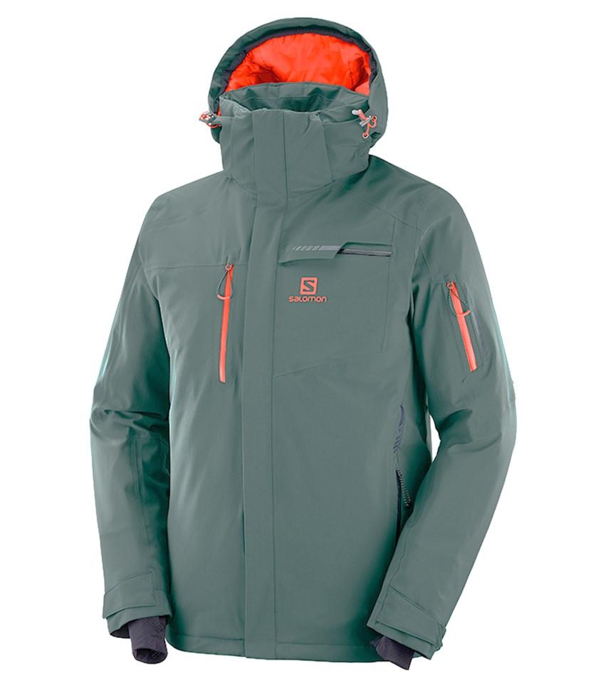 Salomon Brilliant Ski Jacket Green Gables