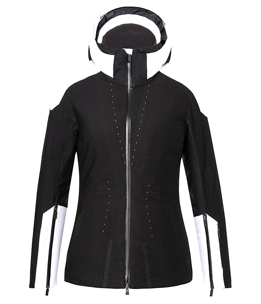 Kjus Freelite Ski Jacket-Black White