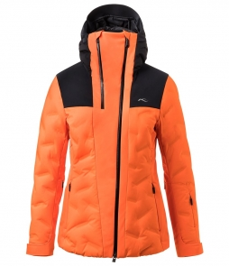 Kjus Ela Jacket-Black Orange