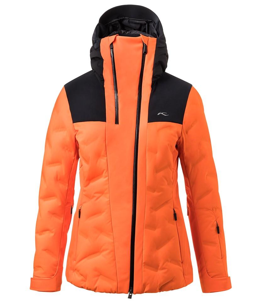 Kjus Ela Jacket-Black Orange