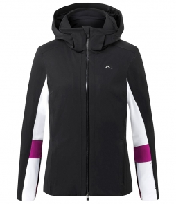 Kjus Laina Ski Jacket-Black White