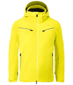 Kjus Formula Mens Ski Jacket-Citric Yellow