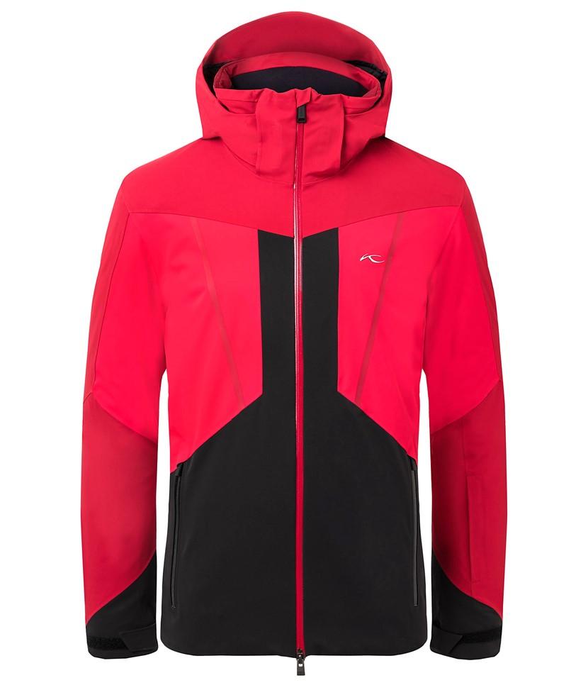 Kjus Boval Ski Jacket-Scarlet Red