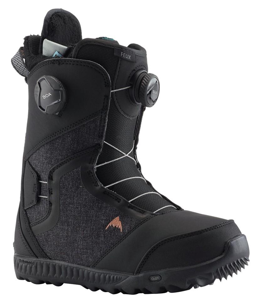 Burton Felix Boa Black 2020 Snowboard Boots