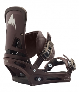 Burton Malavita Leather Cognac 2020 Snowboard Binding