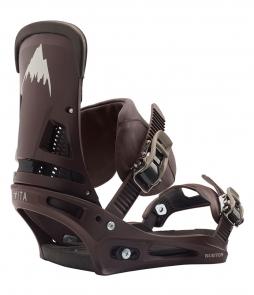 Burton Malavita Leather Cognac 2020 Snowboard Binding