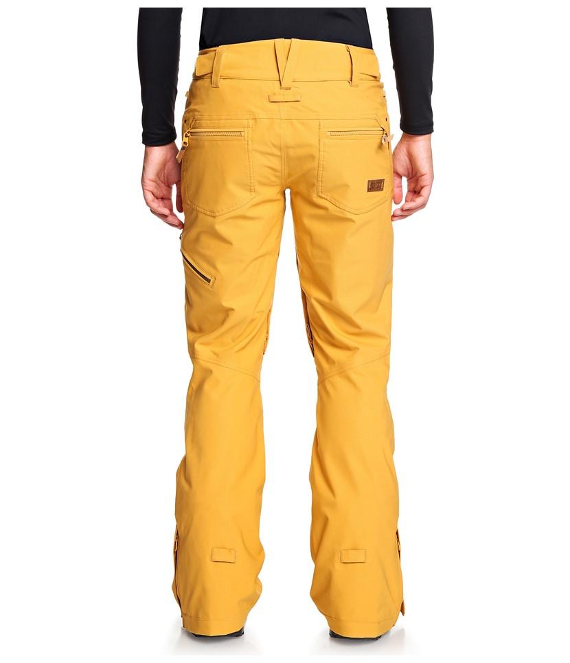 Roxy Cabin Pant-Spruce Yellow 2.