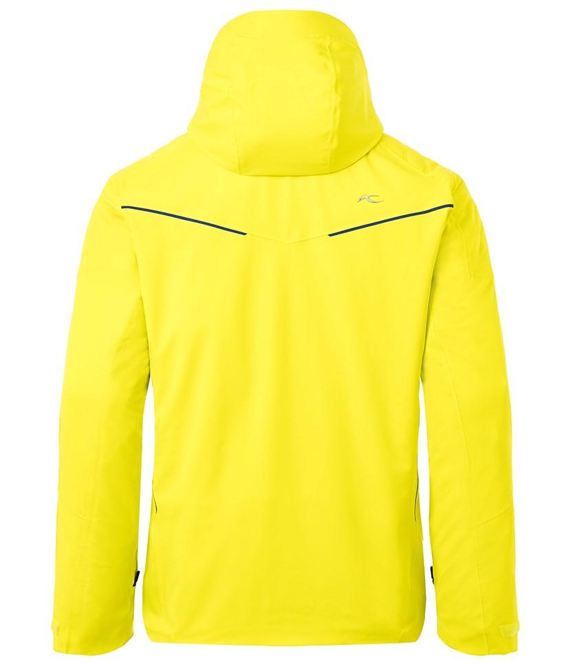 Kjus Formula Mens Ski Jacket-Citric Yellow 2.